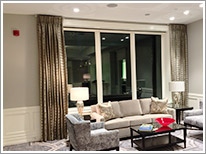 luxury curtain rod instalaltion