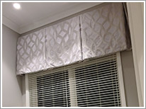 valance and blind installation